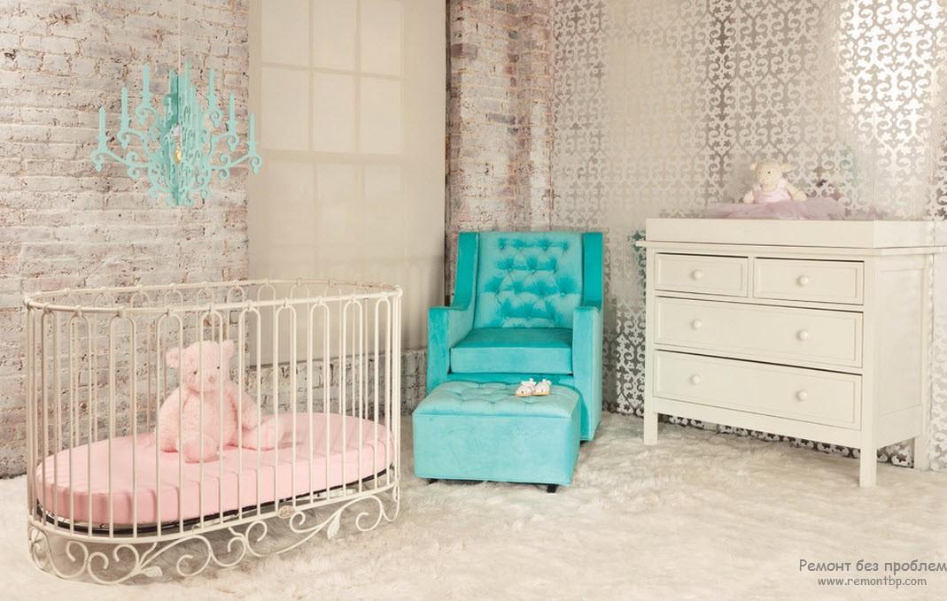 лучезарная детская комната