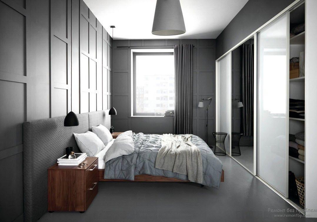Интерьер небольшой спальни, предназначенной только для сна