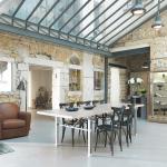 Интерьер и дизайн дома в индустриальном стиле