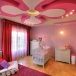 Чем лучше оформить потолок в детской комнате