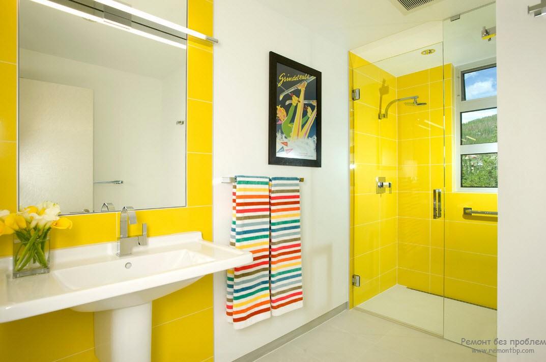 Желтый цвет в ваной