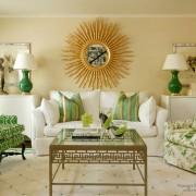 Кресла зеленые