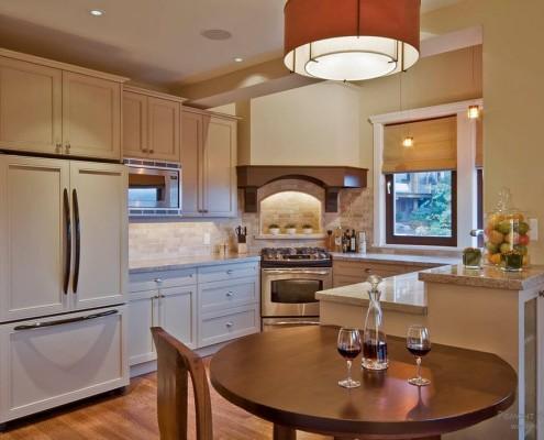 Кухня в стиле романтизм