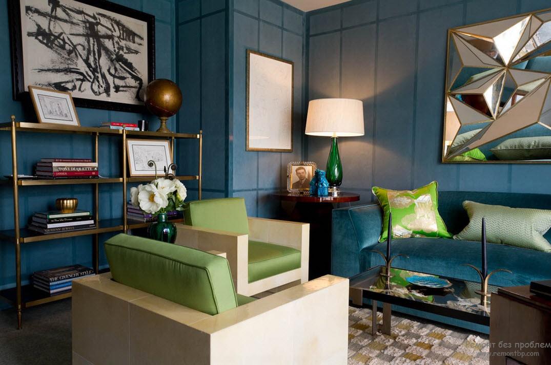 Мягкая мебель зеленая