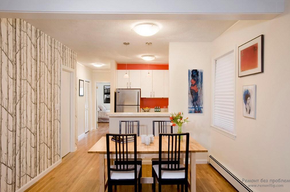 Один интерьер для квартиры