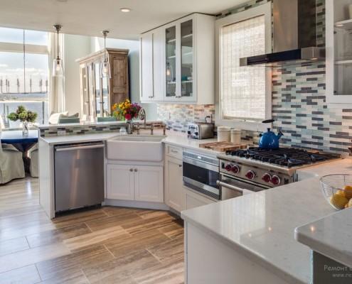 Ромнсий стиль мебели кухня