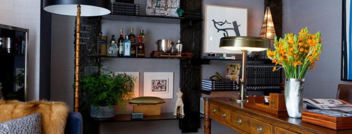 Мебель для домашнего кабинета в дизайне интерьера