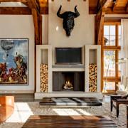 Незаменимый уют интерьеров деревянных домов