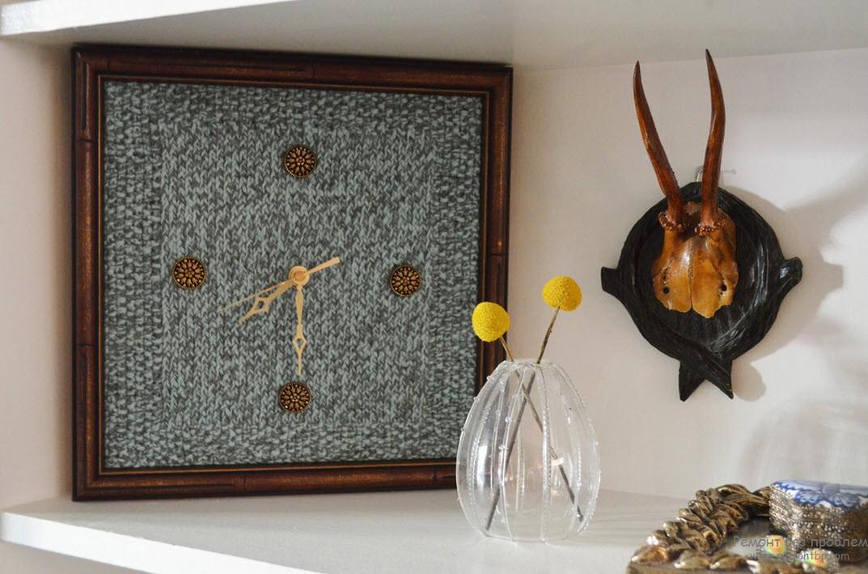 Декоративные часы - невозмутимая оригинальность