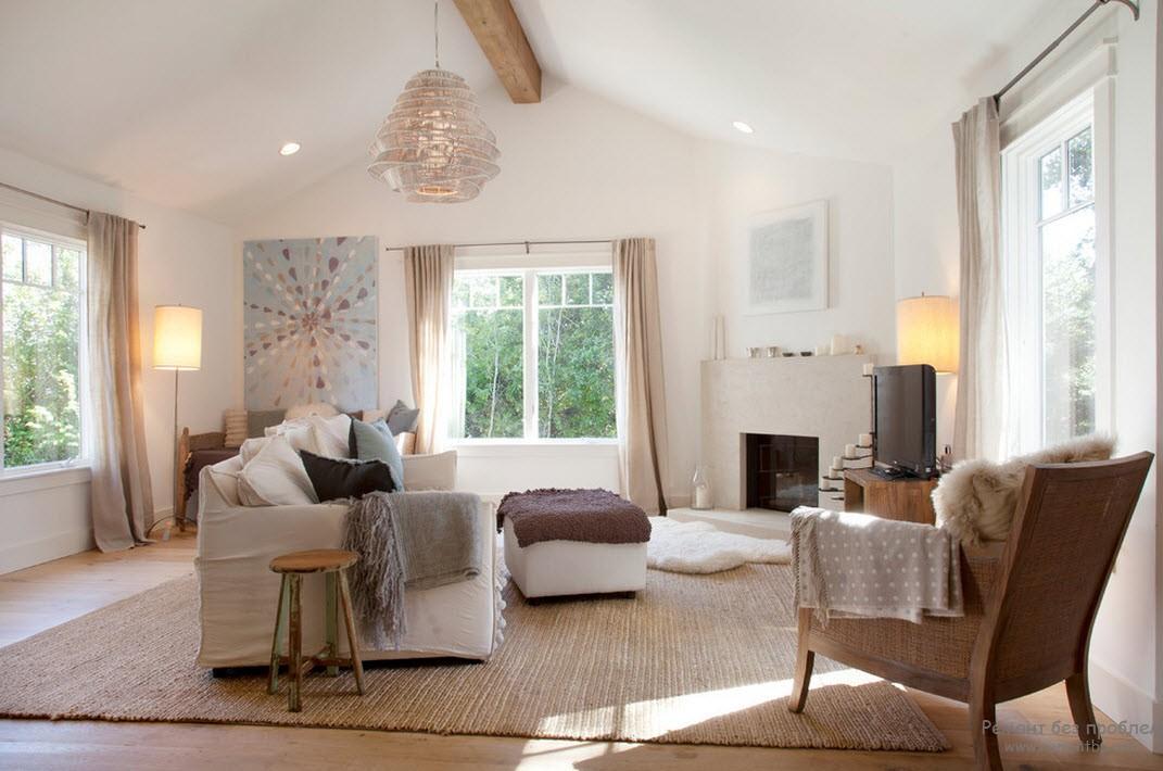 Стиль кэжуал Casual в дизайне интерьера дома