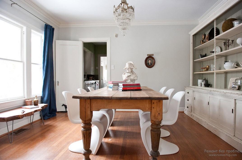 Смелые комбинации мебели