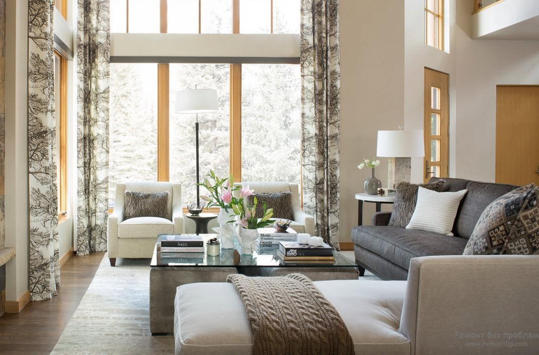 Теплота и уют домашнего интерьера