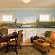 Фреска в домашнем кабинете
