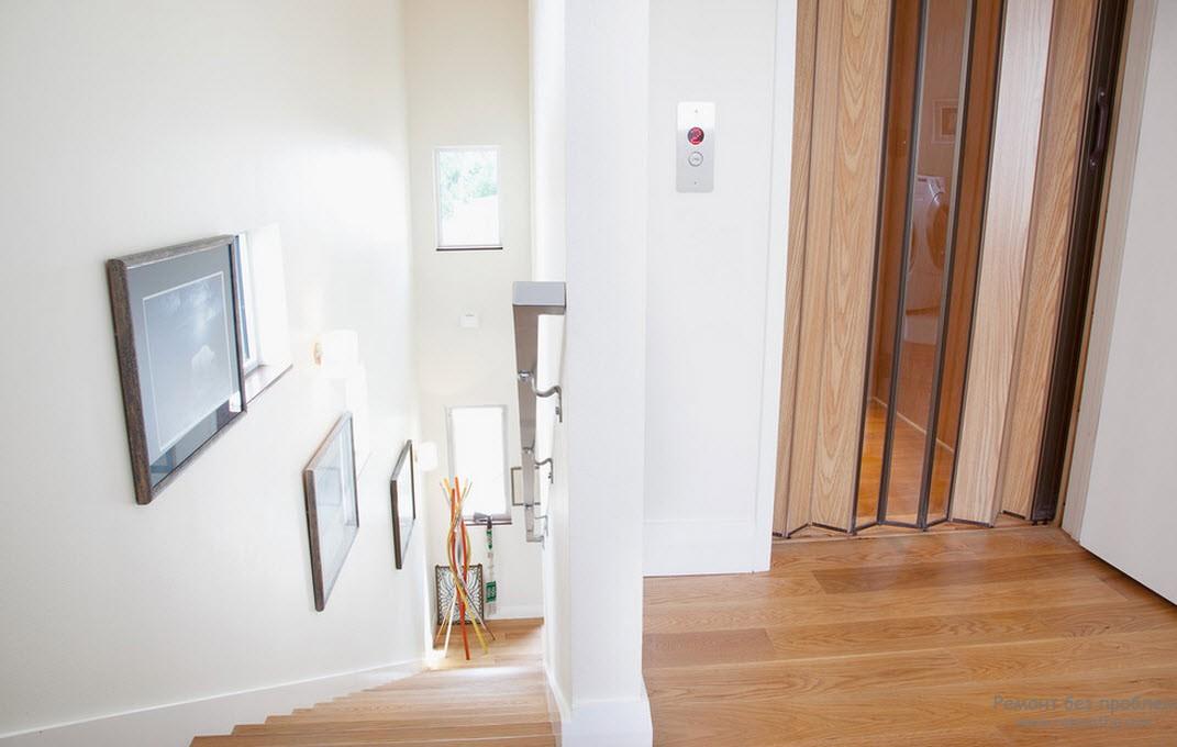 Дверь-гармошка (гофре) в интерьере