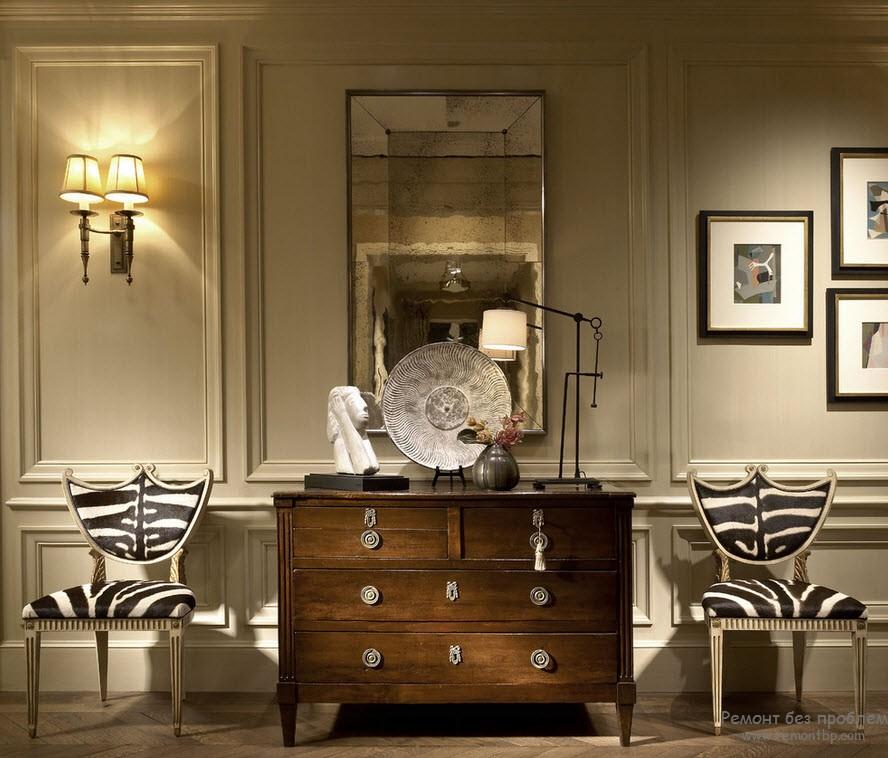 Formal Foyer Decorating Ideas : Молдинги в интерьере квартиры декоративные идеи дизайна