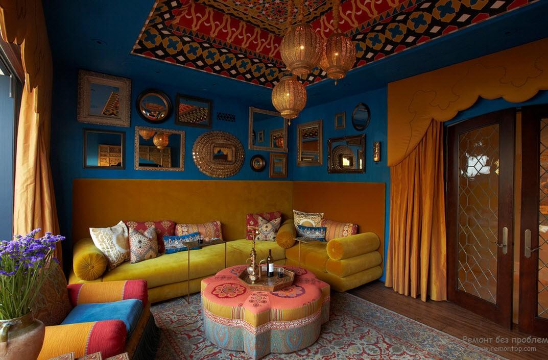 Марокканский стиль в дизайне интерьера, Современные идеи обустройства