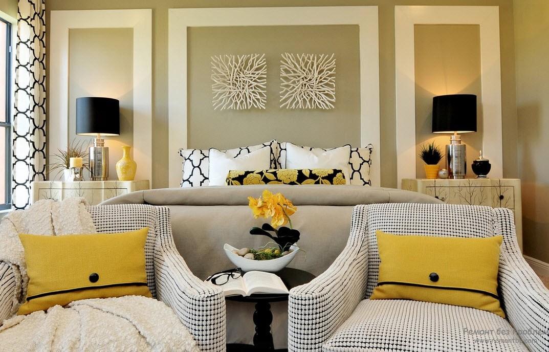 Цвет авангард а комнате
