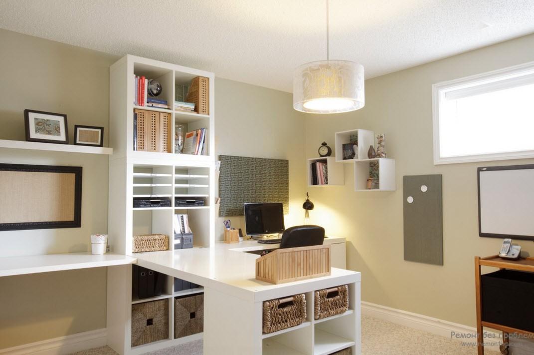 Дизайн кабинетной мебели