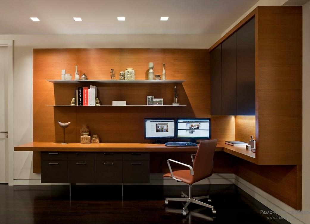Кресло в рабочем кабинете