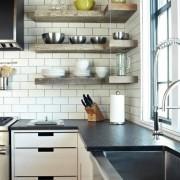 Маленькая угловая кухня №2