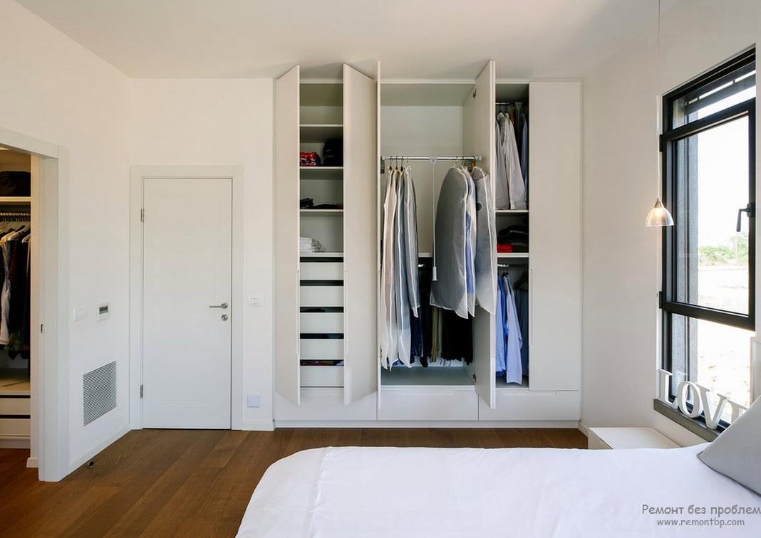 Шкаф в спальне своими руками 40