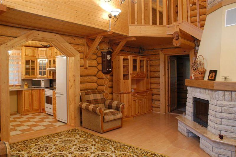 Интерьер дачные домики фото