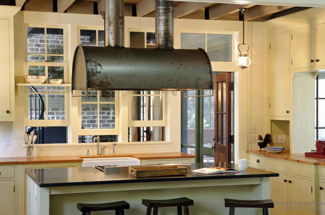 Воплощение стиля на кухне
