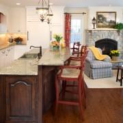 Кресла в кухне на даче