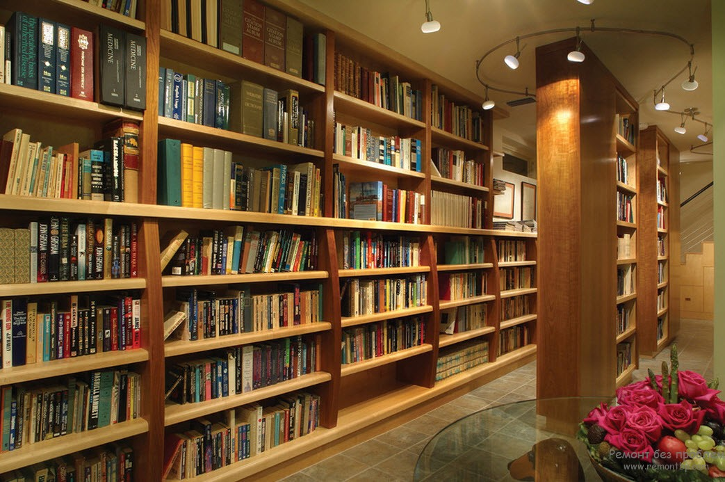 размещение домашней библиотеки = дело нужное
