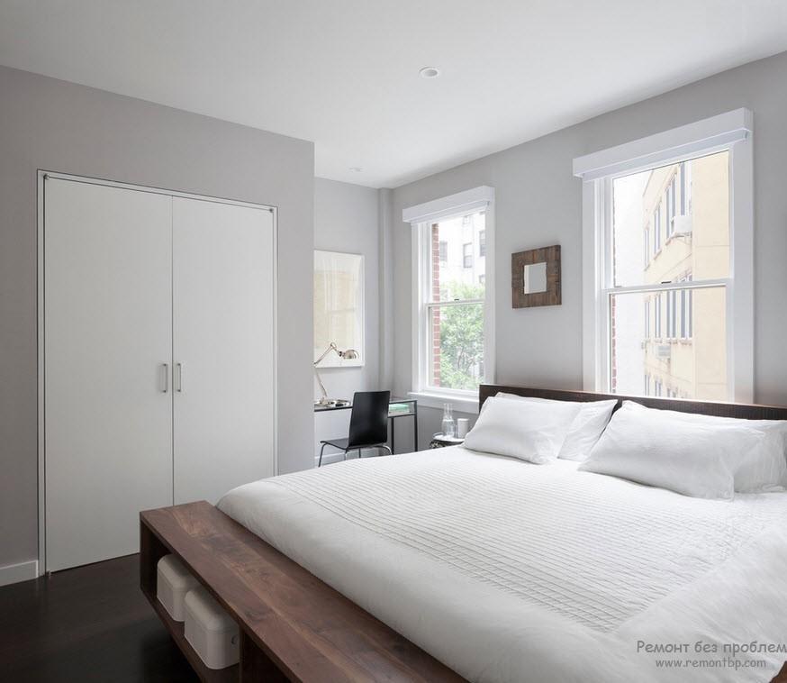 Красивая спальня в интерьере