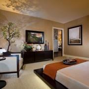 Близость с природой японской спальни