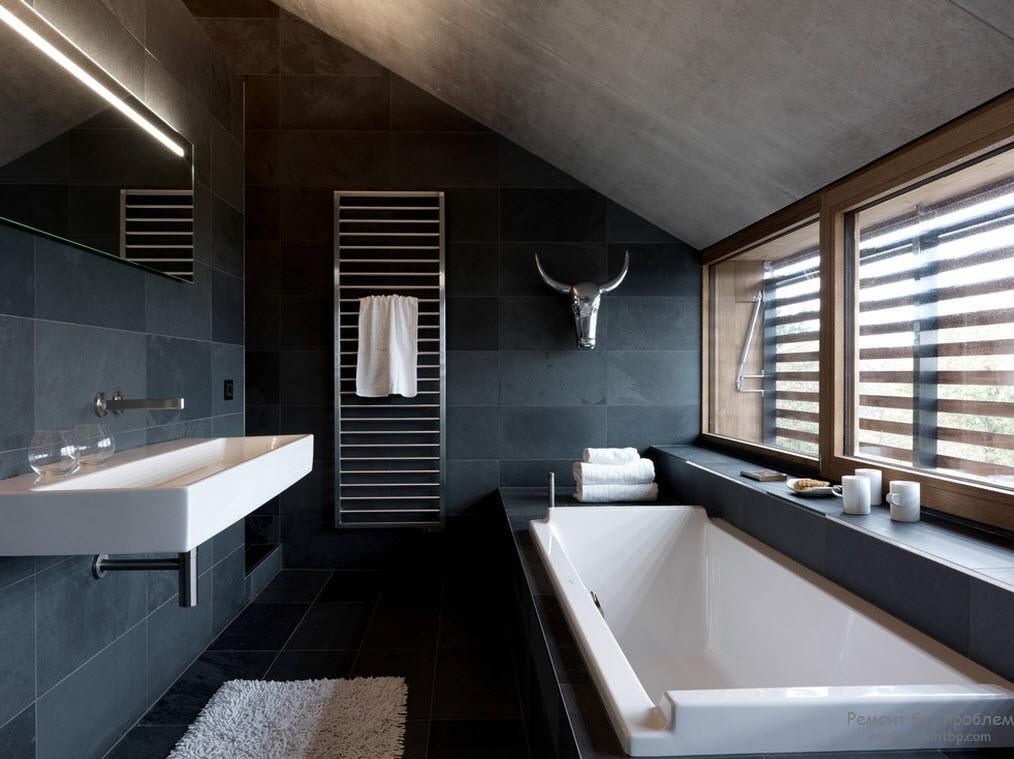 Релаксационная темная ванна