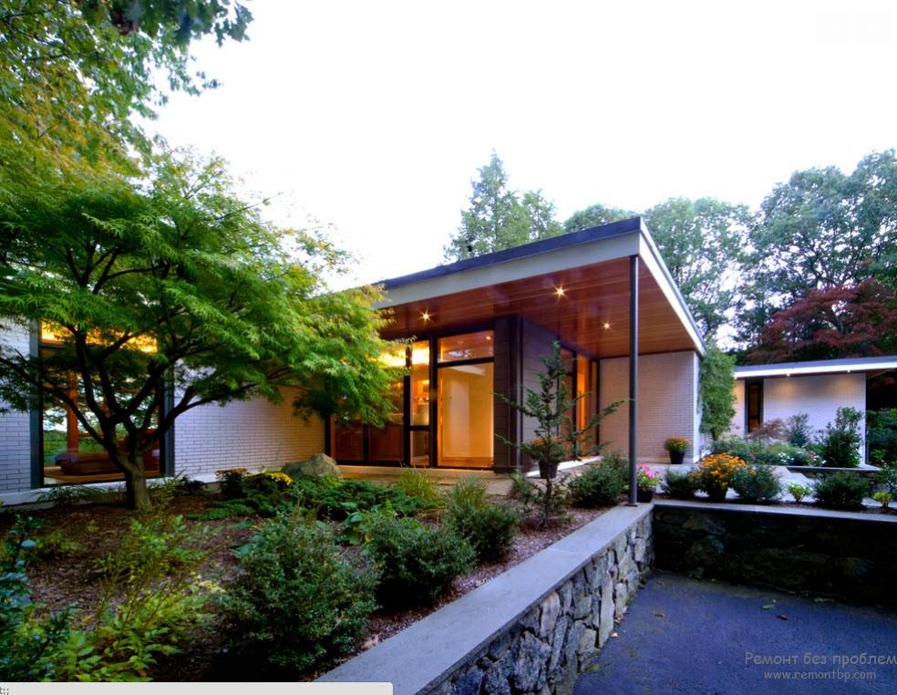 Очень красивый и уютный дизайн двора
