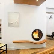 Дизайн современного камина