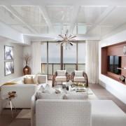 Телевизор в интерьере: варианты расположения в комнате, идеи на фото