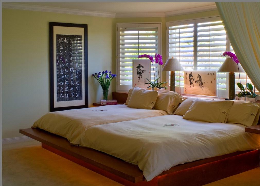 Деревянное основание кровати