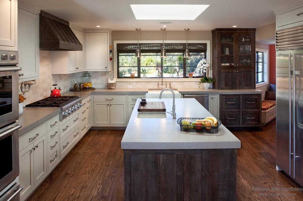Современный дизайн кухни на даче Лучшие идеи для