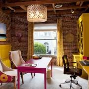 Уютная мебель домашнего кабинета