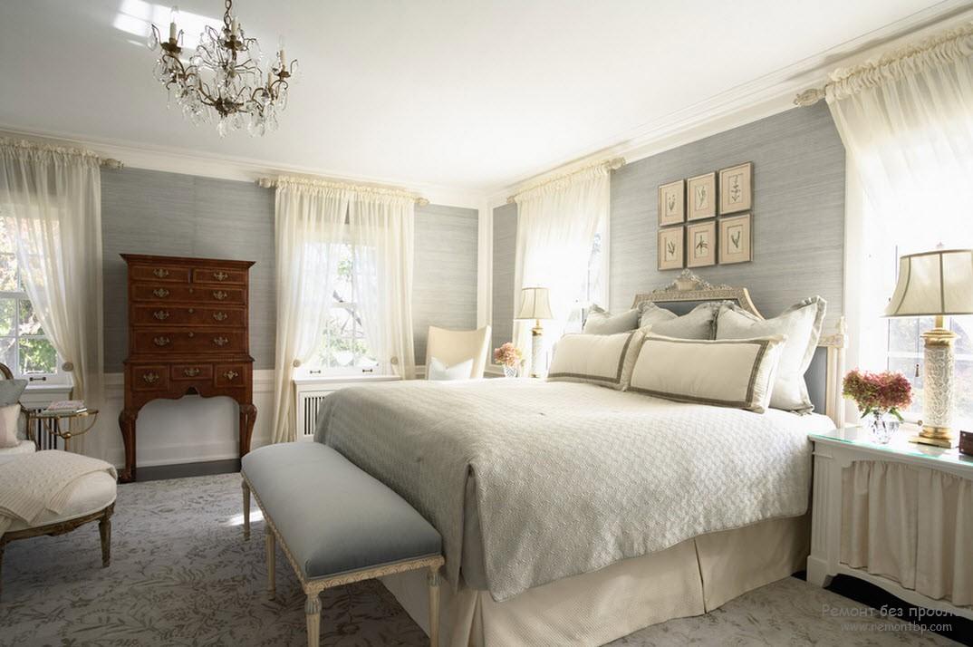 Светлая спальня