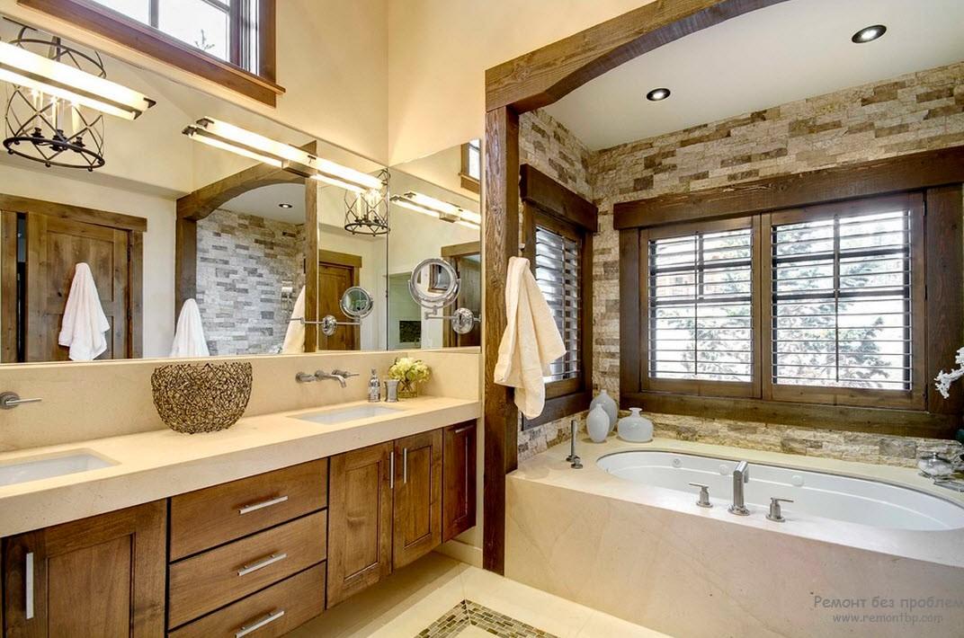 Дачная ванная комната