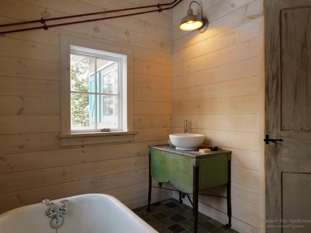 Ванная комната на дачном участке
