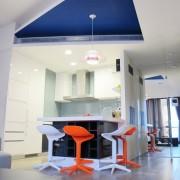 Дизайн потолка на кухне фото