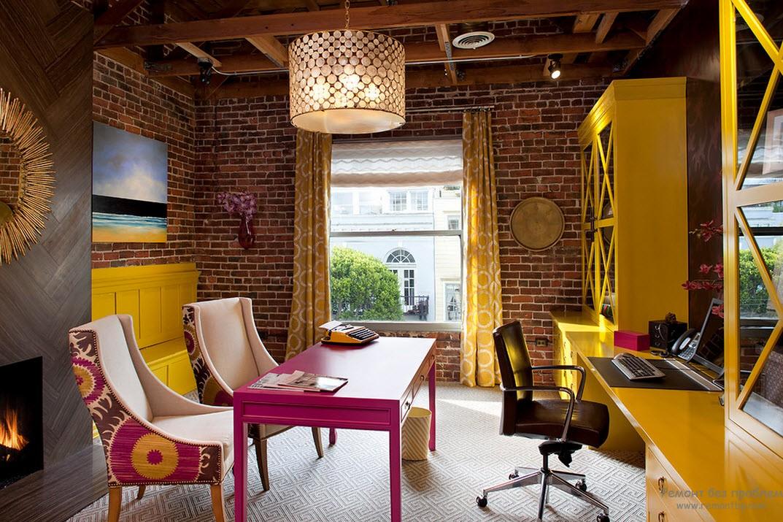 Дизайн мебели в офисе фото