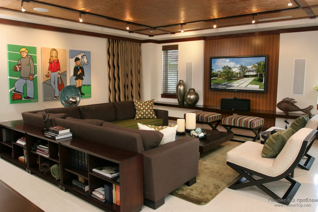 Интерьер зала в квартире: современные и модные идеи дизайна