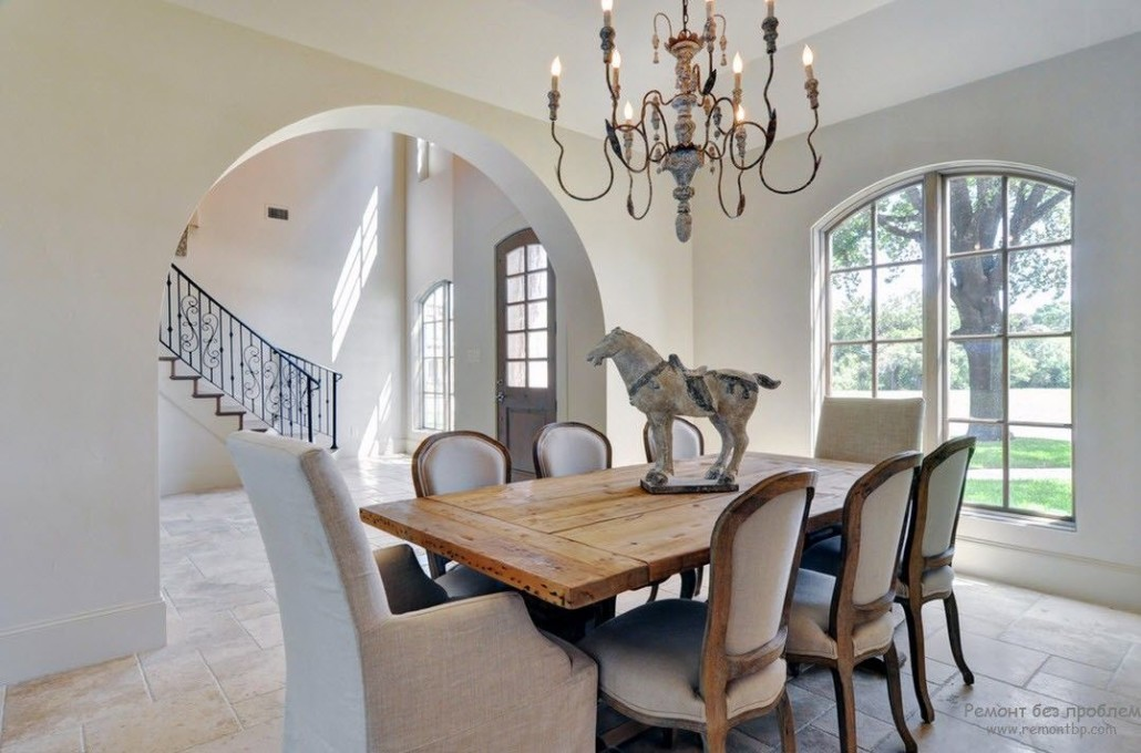 for Dining room niche ideas
