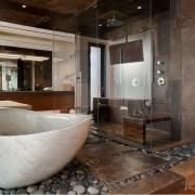Гранит в ванной комнате