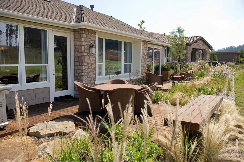 Садовая мебель - безупречное оформление участка вокруг дома