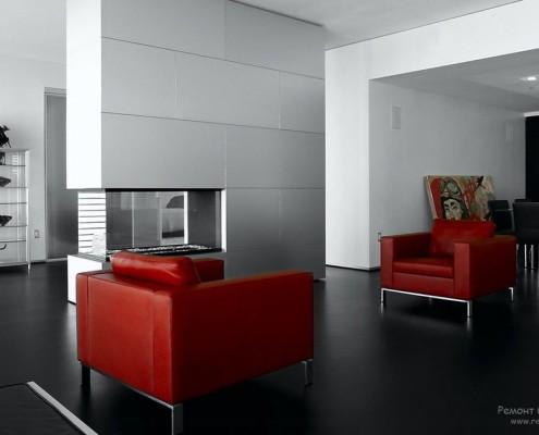 Классическое цветовое решение минималистического интерьера