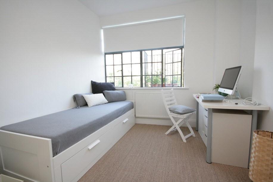 Спальня и рабочий кабинет