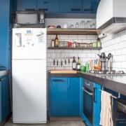 Угловая кухня в хрущевке №9